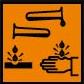 coshh symbol corrosive