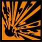 coshh symbol explosive