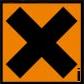 coshh symbol irritant