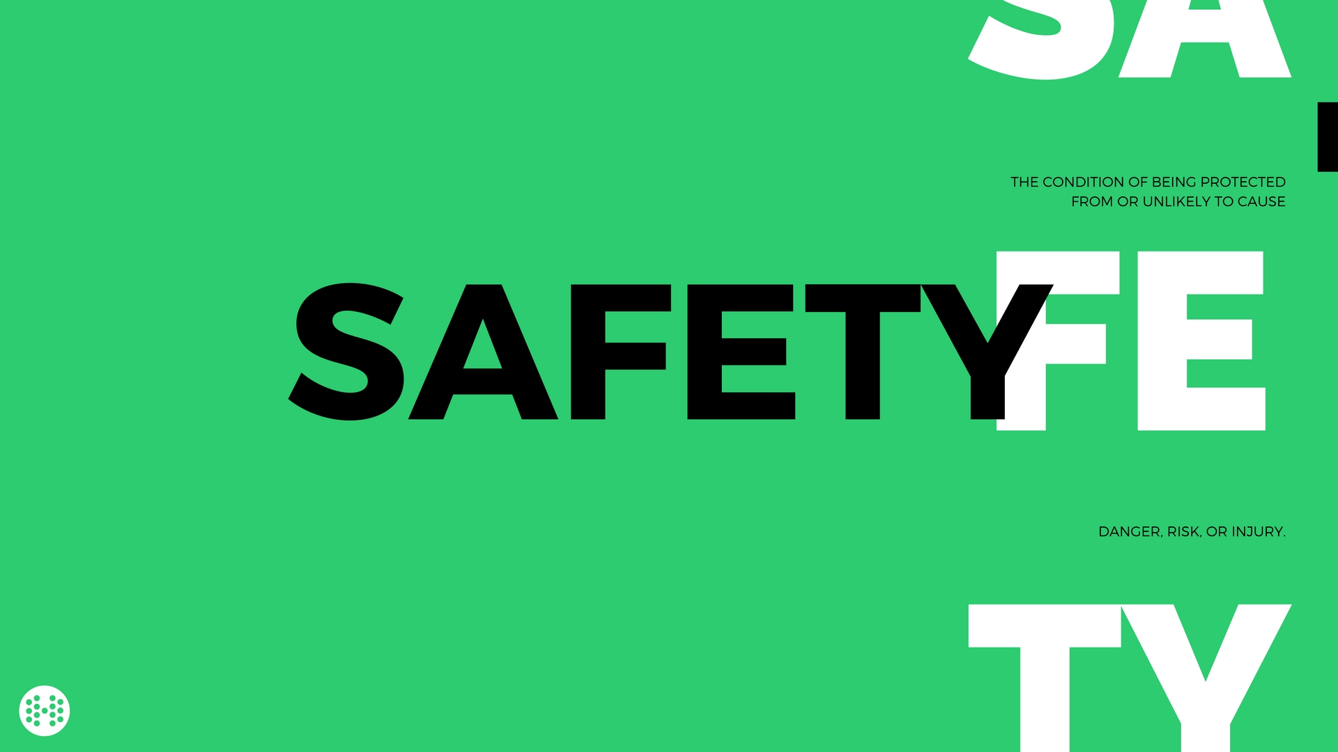safety definition wallpaper