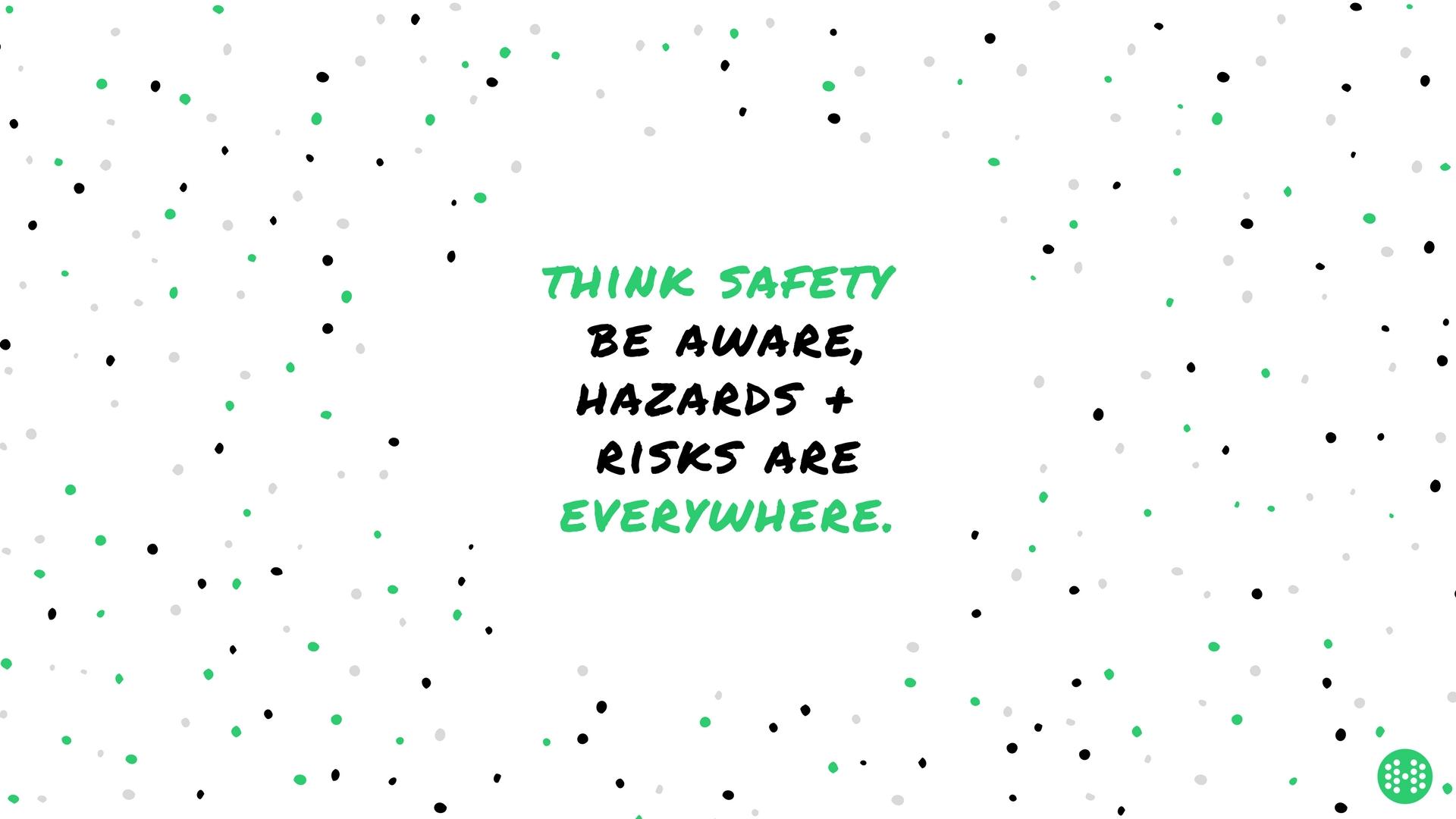 think safety wallpaper